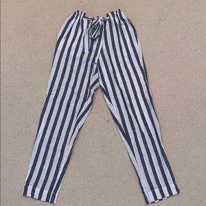 Beach Lunch Lounge Linen Pants